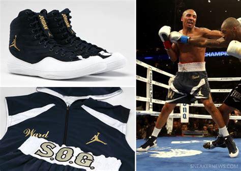 Andre Ward X Jordan Brand Boxing Boots + Ring Gear