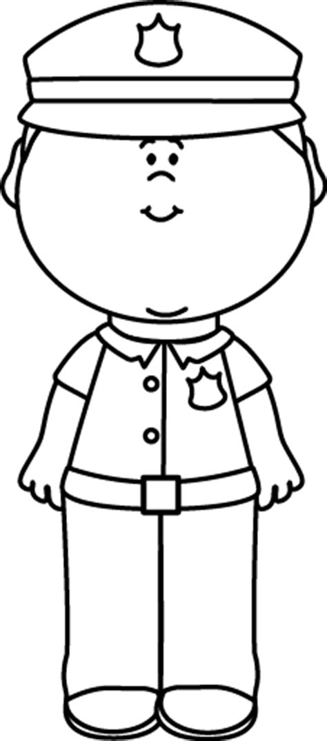 11589 policeman clipart black and white black and white officer clip black and white