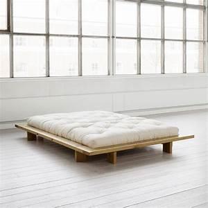 Lit Japonais Pas Cher : before minimalist decor pinterest japanese futon ~ Premium-room.com Idées de Décoration