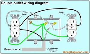How To Wire A Double Outlet In Series
