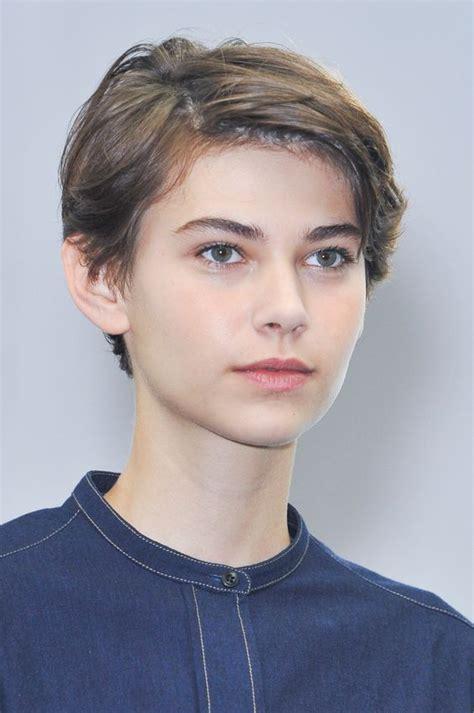 androgynous gay  lesbian haircuts  modern edge