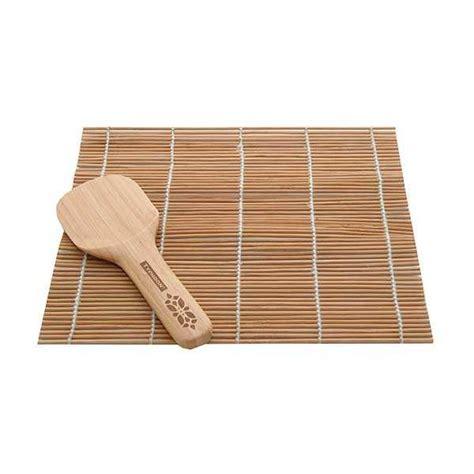 tapis  spatule pour sushis en bambou typhoon