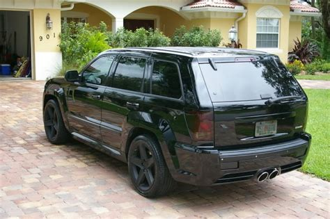 jeep cherokee blacked out blacked out jeep cherokee srt8 my lovely amazing