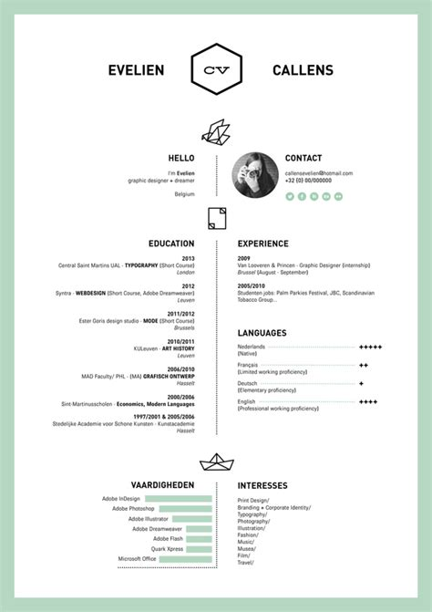 Design Your Resume by 15 Beautiful Resume Designs For Your Inspiration Designer Daily Graphic And Web Design