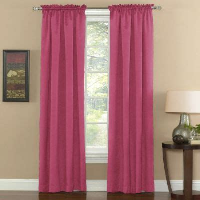 Kmart Pink Sheer Curtains by Eclipse Curtains Thermal Weave Pink Window Panel