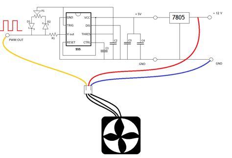 Pc Cooling Fan Wiring Diagram by My Own Fan Controller