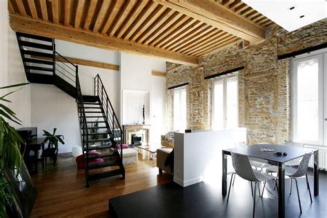 surface cuisine architecture et rénovation d 39 un appartement avec escalier