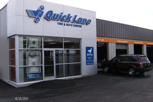 oil change tire auto repair quick lane fairway ford