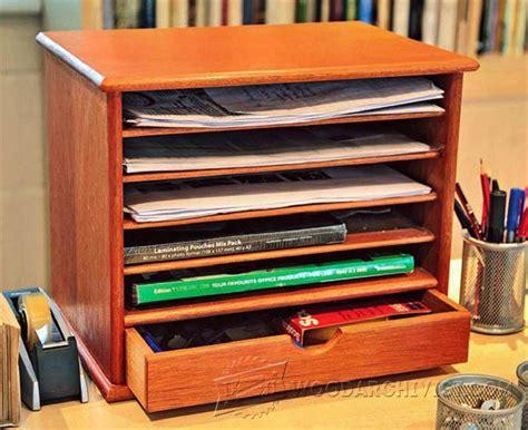 desk organizer woodworking plans wooden desk tidy plans woodarchivist