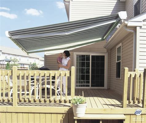 roof awnings elite heavy duty retractable patio awning