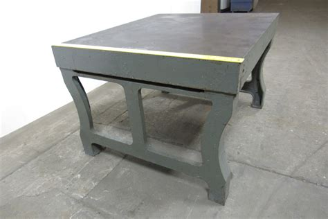 vintage cast iron table legs for sale vintage cast iron welding layout inspection work table