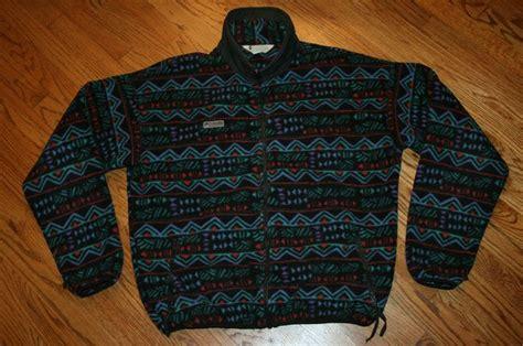 Columbia Fleece Indian Aztec vintage 90's Jacket Men's ...