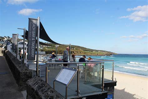 porthmeor beach cafe st ives cornwall