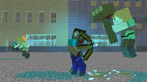steve  herobrine alex minecraft youtube
