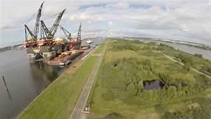 Werelds GROOTSTE drijvende kraan!! Worlds LARGEST floating ...