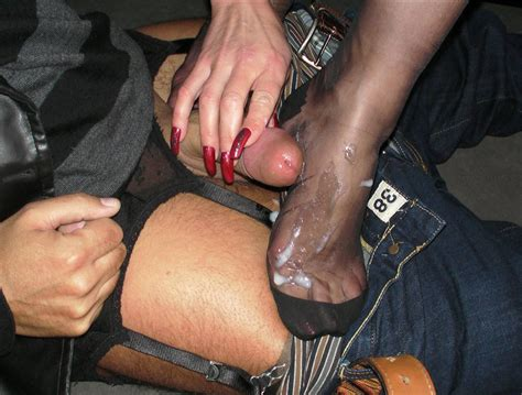 1356862480046 In Gallery Cum On Stocking Feet Picture