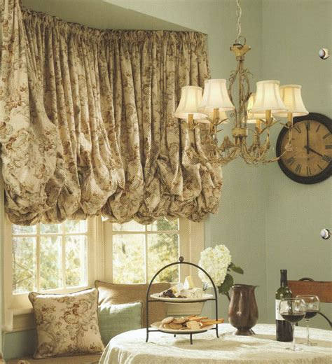 balloon valance curtains images