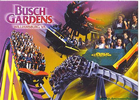 Busch Gardens Williamsburg Postcards