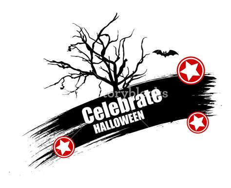 Halloween banners svg, png, pdf, eps, dxf files. Halloween Vector Banner Background Royalty-Free Stock ...
