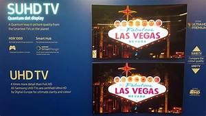 Compare Suhd Vs Uhd Samsung Televisions 4k Video