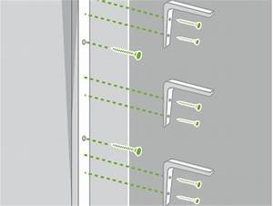 Etagere Sans Vis : comment monter une s rie d 39 tag res leroy merlin ~ Premium-room.com Idées de Décoration