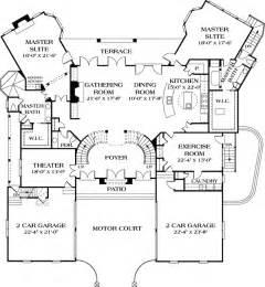 house plans two master suites dual master suites 17647lv 1st floor master suite butler walk in pantry corner lot den