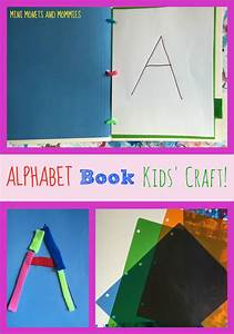 mini monets and mommies alphabet book making kids39 craft With letter art book