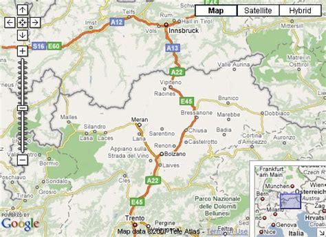 map accommodations dolomites hotel maps south tyrol