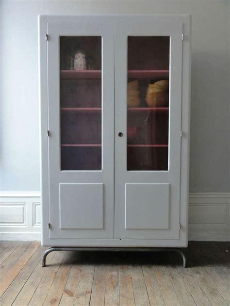 armoire ecole vitree annees  vintage emoi