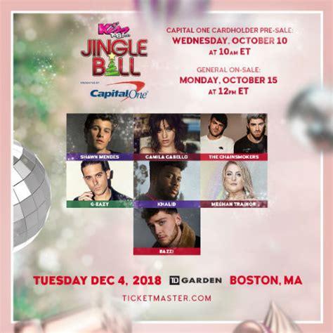 Kiss Jingle Ball Shawn Mendes Camila Cabello The