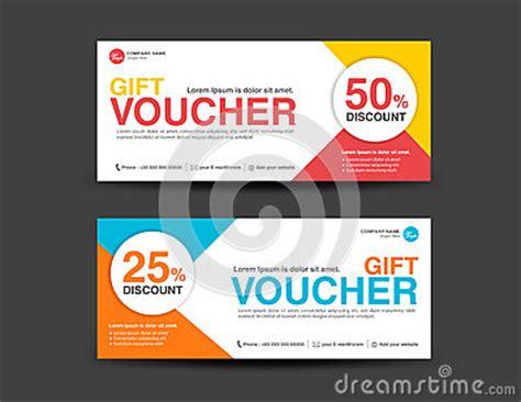 discount voucher template coupon designticket banner