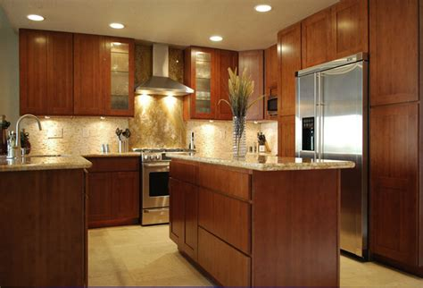 Carbonized Bamboo Kitchen Cabinets  Modern  Kitchen