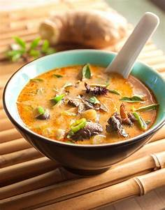 Thai Mushroom & Coconut SoupThis rich and satisfying
