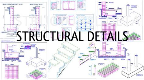 country house plan structural details of stair construction process