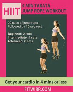 Jump Rope HIIT Cardio Workout