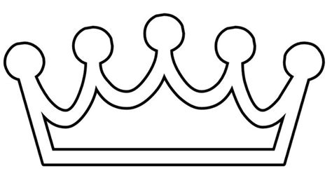 Princess Crown Printable Coloring Pages