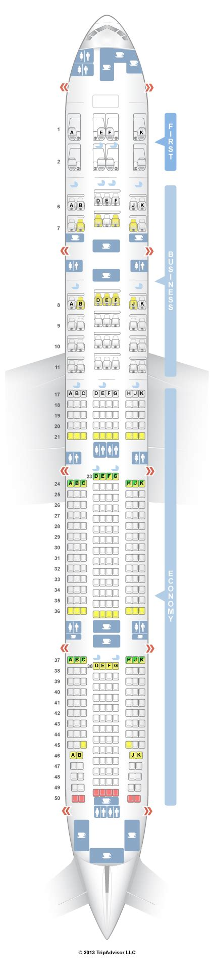plan siege boeing 777 300er seating plan boeing 777 300er cathay pacific