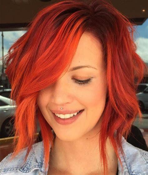 belles idees de couleurs pour vos cheveux courts