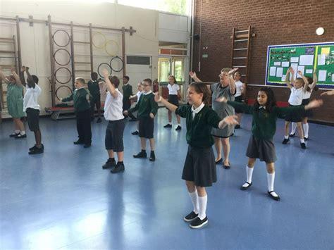 parsonage farm primary school zumba dance july