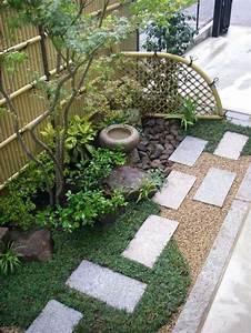 les 25 meilleures idees de la categorie gravier decoratif With ordinary eclairage allee de jardin 9 terrasse jardinet