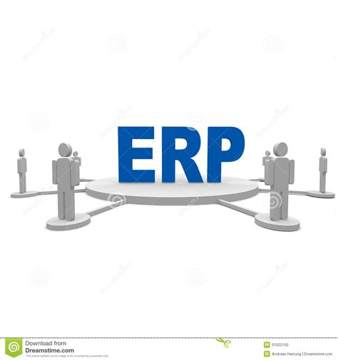 erp cartoons illustrations vector stock images