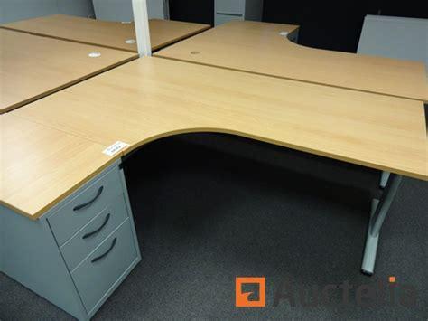 bureau de coin bureau d 39 angle coin avec meuble à tiroir