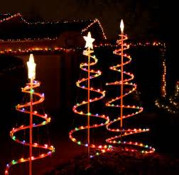 Spiral Lighted Christmas Trees Outdoor by Spiral Christmas Trees Outdoor Search Results Calendar