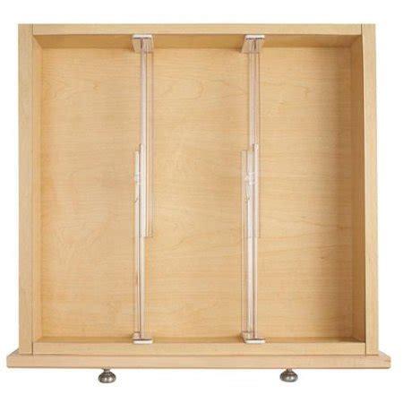 drawer dividers walmart interdesign linus adjustable drawer dividers set of