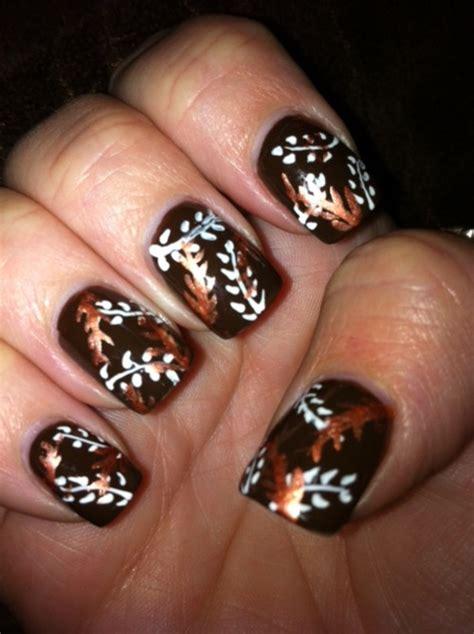 autumn nail designs 37 nail designs