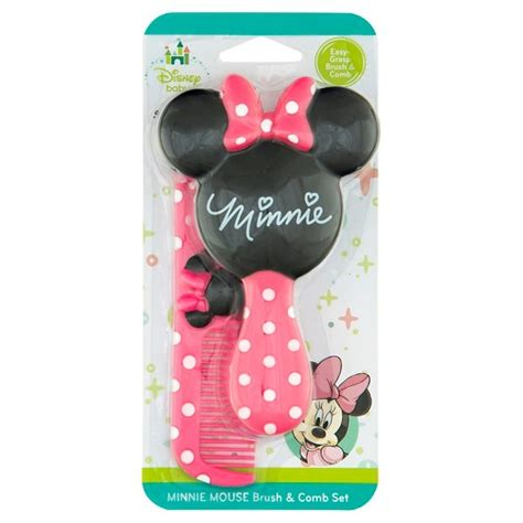 safety 1st disney baby minnie mouse brush comb set target