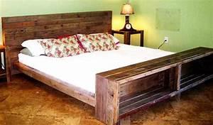 Bett Aus Holzpaletten : bett aus europaletten freshouse ~ Michelbontemps.com Haus und Dekorationen