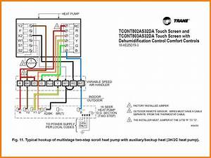 Collection Of Heating And Cooling Thermostat Wiring