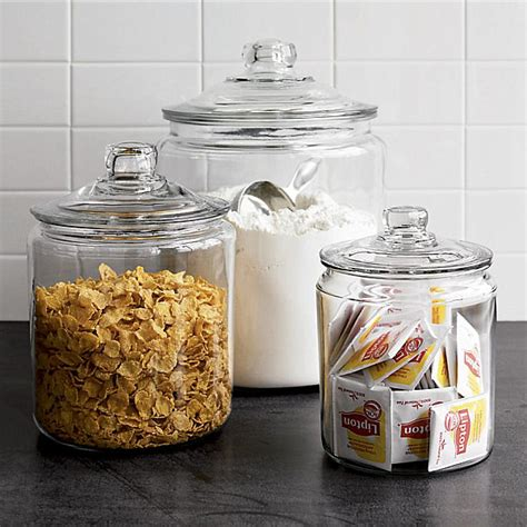 vintage glass canisters kitchen stylish food storage containers for the modern kitchen