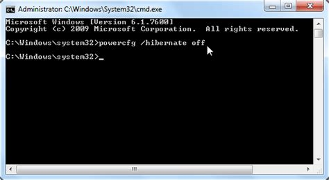 how to disable hibernation in windows 10 8 7 vista and